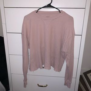 Thermal Cropped T-Shirt